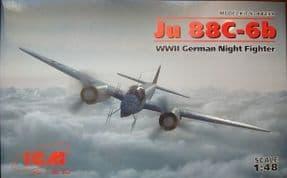 ICM48239 1/48 Junkers Ju 88C-6 Night Fighter