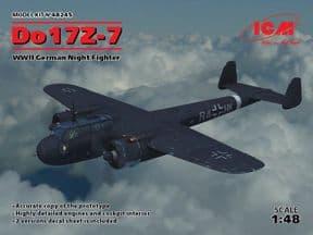 ICM48245 1/48 Dornier Do17Z-7 Night Fighter