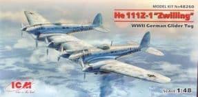 ICM48260 1/48 Heinkel He111Z-1 'Zwilling' Glider Tug