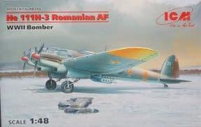 ICM48266 1/48 Heinkel He111H-3 Romanian