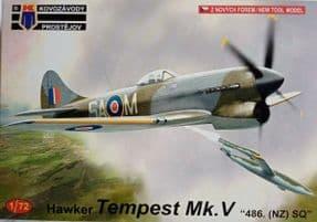 KPM0222 1/72 Hawker Tempest Mk.V 'No.486(NZ) Sq.'
