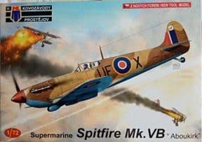 KPM0257 1/72 Supermarine Spitfire Mk.VB with 'Aboukir' filter
