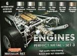 LC-CS51 Perfect Metal Set 3 - Engines (22ml x 6)
