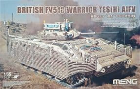 MNGSS-017 1/35 British FV510 Warrior TES(H) AIFV