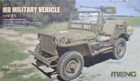 MNGVS-011 1/35 MB Military Vehicle - WWII US Army Jeep