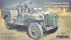 MNGVS-012 1/35 MB Military Vehicle - Wasp Flamethrower Jeep