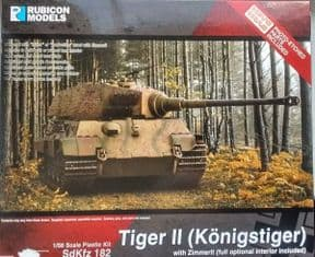 RB280100 1/56 King Tiger with Zimmerit
