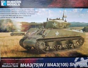 RB280111 1/56 M4A3(75)W M4A3(105) Sherman