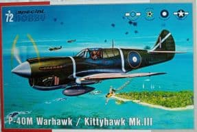 SH72382 1/72 Curtiss P-40M Warhawk