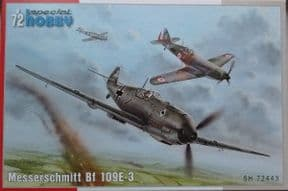 SH72443 1/72 Messerschmitt Bf-109E-3