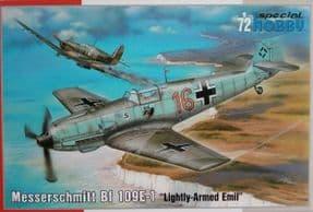 SH72454 1/72 Messerschmitt Bf-109E-1 'Lightly-Armed Emil'