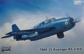 SW72130 1/72 Grumman TBM-3S Avenger AS.4