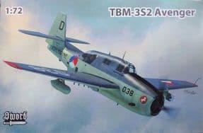 SW72131 1/72 Grumman TBM-3S2 Avenger