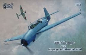 SW72136 1/72 Grumman TBF-1 Avenger over Midway and Guadalcanal