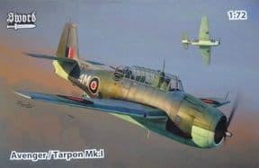 SW72137 1/72 Grumman Tarpon MK.I (Avenger Mk.I)