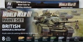 VAL70222 WWIII British Armour and Infantry