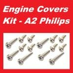 A2 Philips Engine Covers Kit - Honda C95