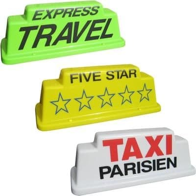 """18"""" Raised Taxi Roof Sign"""