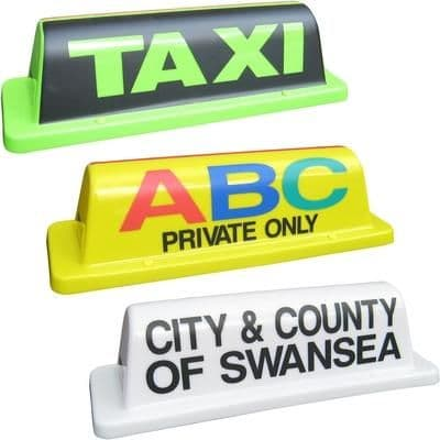 """18"""" Roll Taxi Roof Sign"""