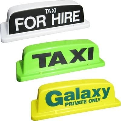 """18"""" Standard Taxi Roof Sign"""