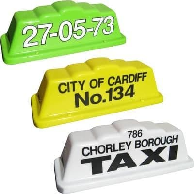 """18"""" Step Taxi Roof Sign"""