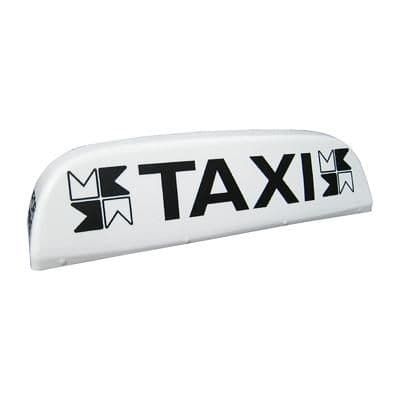 """30"""" Aero Taxi Roof Sign"""
