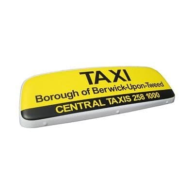 """30"""" Streamline Taxi Roof Sign"""