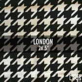 Choose Your Pattern Collection: London Dogtooth / Houndstooth Smooth Touch Leggings | Fits UK Size 8 - 12/14 | Petite Leg Inseam 26.5 Inches