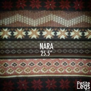 Choose Your Pattern Collection: Nara. Cosy Knit Print Leggings   Fits UK Sizes 8 - 12/14   Petite Leg Inseam 25.5 Inches
