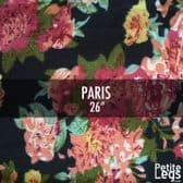 Choose Your Pattern Collection: Paris. Cosy Knit Print Leggings | Fits UK Sizes 8 - 12/14 | Petite Leg Inseam 26 inches.