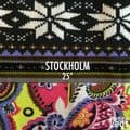 Choose Your Pattern Collection: Stockholm. Cosy Knit Print Leggings | Fits UK Sizes 8 - 12/14 | Petite Leg Inseams 25 Inches