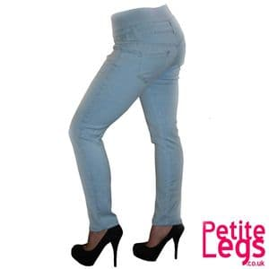 Millie High Waist Skinny Jeans   UK Size 6   Petite Leg Inseam Select: 24 - 29 inches