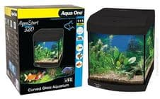 Aqua One AquaStart 320 Aquarium in Black