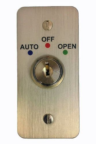 Automatic Door 3 Position Key Switch