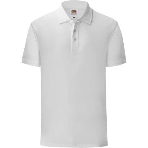 Connah's Quay High White PE Polo