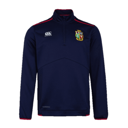 British Lions  Nations Thermoreg Qtr Zip