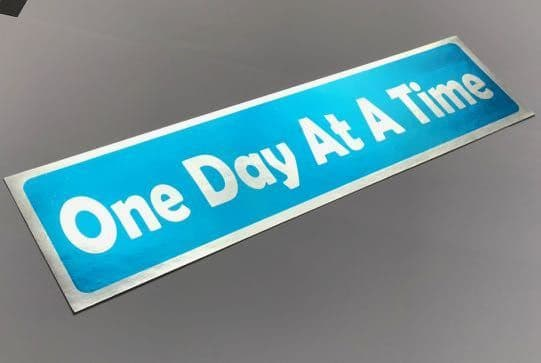 One Day at a Time. Sticker