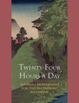 Twenty Four Hours a Day. Larger Print Paperback