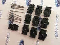 Ford Capri MK3 New Genuine Ford door moulding clips and rivets