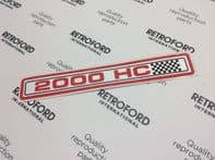 Ford rocker cover decal