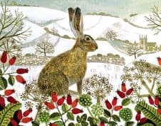 Christmas Card Pack-Hare