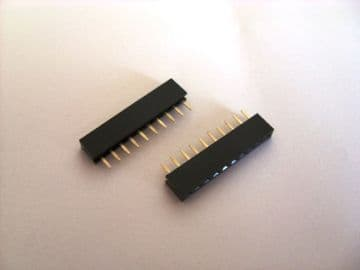 10 Way 2mm Pitch PCB Header Socket Pack of 10 Ideal for Xbee