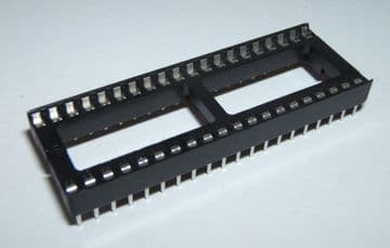 40 Pin DIL IC Socket Wide Pack of 5