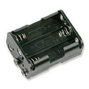 6x AA Battery Box With Press Studs Pack of 1
