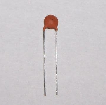 470pF Ceramic Disc Capacitor 2.5mm Pitch Pack of 10