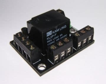 DPDT Relay Project Self Build Kit with 6VDC DPDT Relay