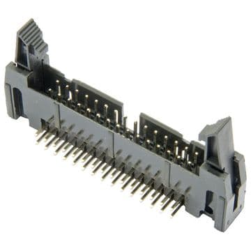 Raspberry Pi - GPIO Latched Shrouded Header (2x20) - RIGHT ANGLED