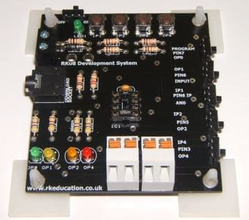 RK08 Training/Development PCB for 8 pin PIC,PICAXE and Genie Self Build Kit