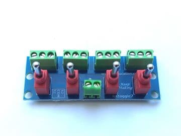 RKtoggle7 Toggle Switch Module for Model Railway  - Constructed