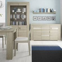 Madras Collection in Champagne Melamine